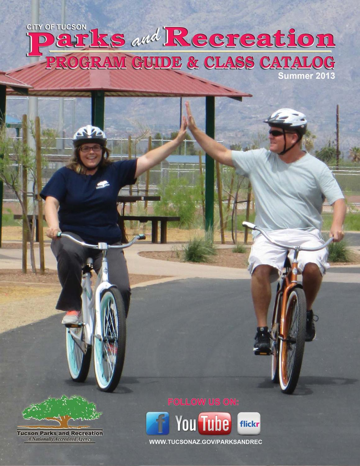Tucson Parks and Recreation Program Guide and Class Catalog by Tucson Parks and Recreation  Issuu