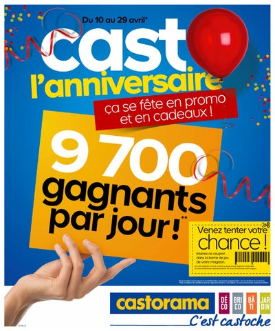 castorama catalogue 10 29 avril 2013 by
