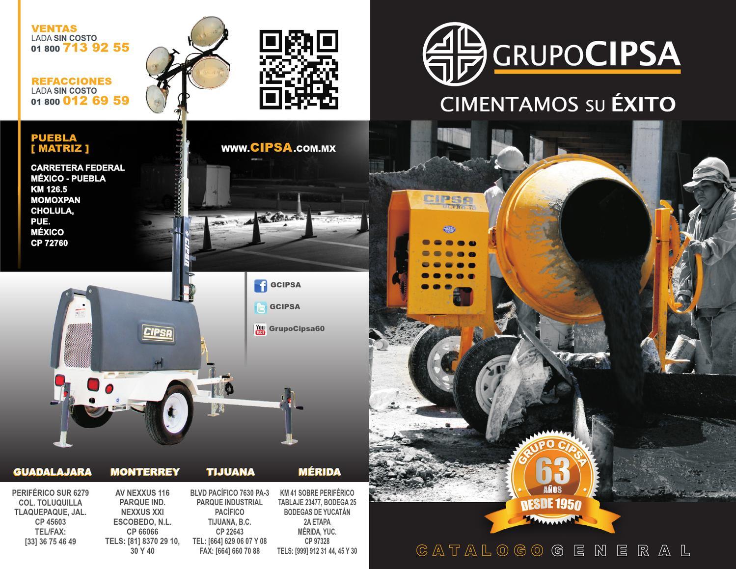 Catalogo CIPSA by Grupo Cipsa  Issuu