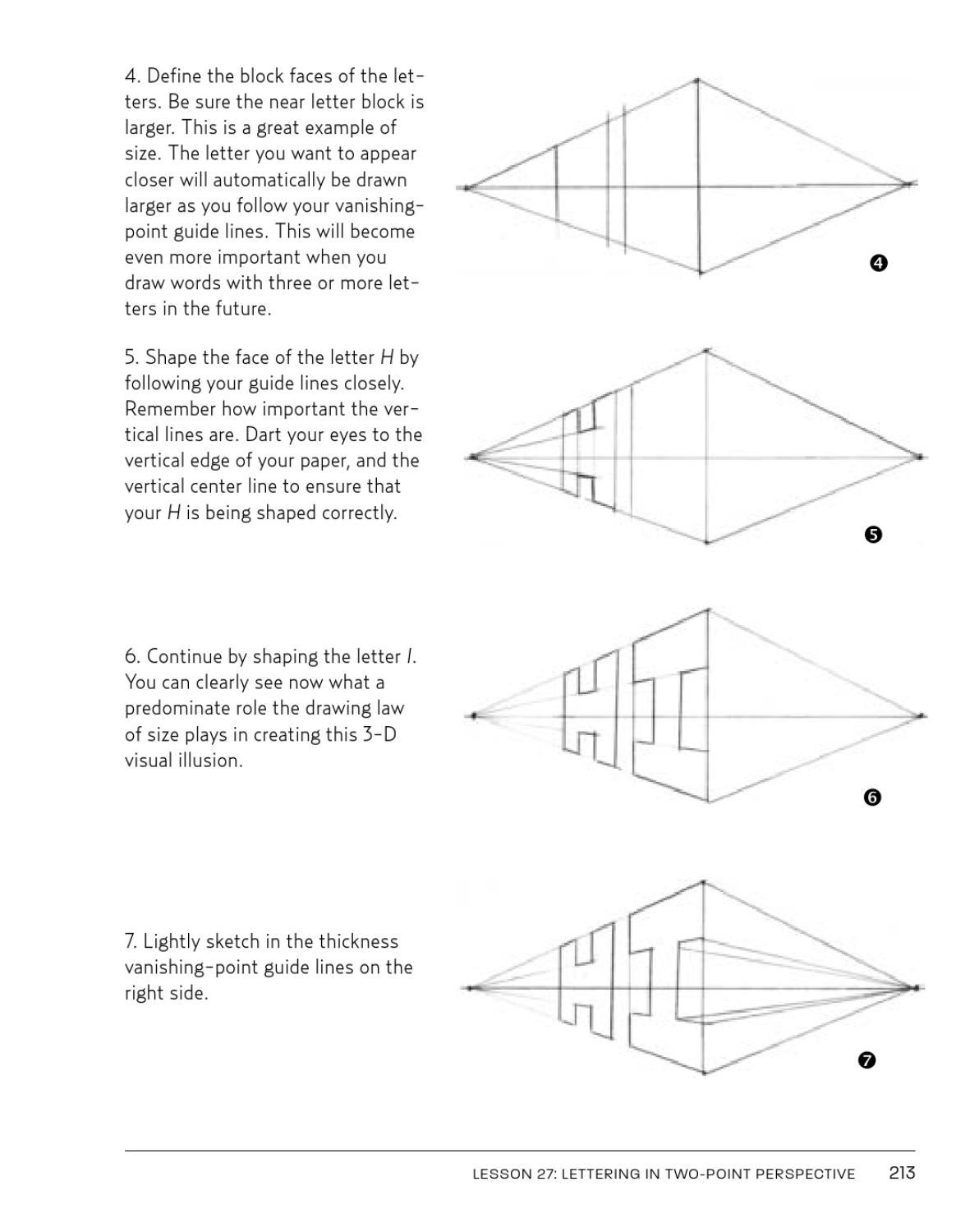 2 Point Perspective Letters : point, perspective, letters, Dibujo, Edison, Gamba, Issuu