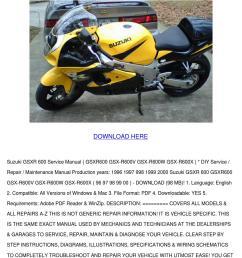 suzuki gsxr 600 srad service manual gsxr600 g [ 1060 x 1500 Pixel ]