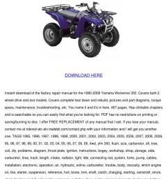 yamaha wolverine 350 service manual repair 19 [ 1060 x 1500 Pixel ]