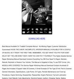 honda rebel 250 pdf service repair workshop m by cherelle mcglathery issuu [ 1060 x 1500 Pixel ]