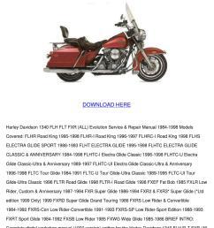 page 1 harley davidson 1340 flh flt fxr all evolutio by janay grogan issuu [ 1060 x 1500 Pixel ]