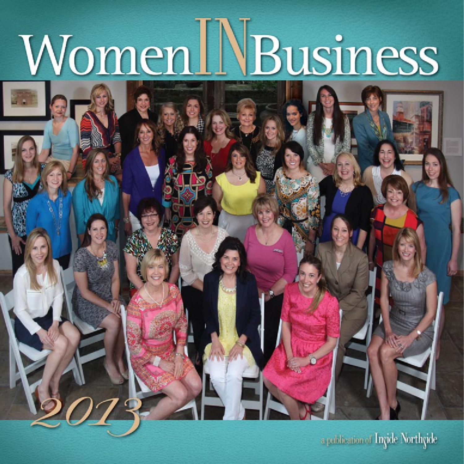 Inside Northsides 2013 Women IN Business by Inside Publications  Issuu