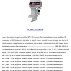 Evinrude 115 V4 Wiring Diagram 99 Civic Ignition Switch Johnson Outboard Motor Service Manua By Norene Jeffry - Issuu