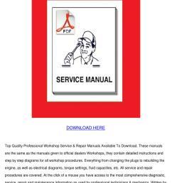 nissan navara d22 workshop repair manual down by letha barreneche issuu [ 1060 x 1500 Pixel ]