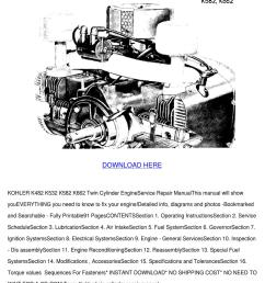 kohler k482 k532 k582 k662 service repair man [ 1060 x 1500 Pixel ]