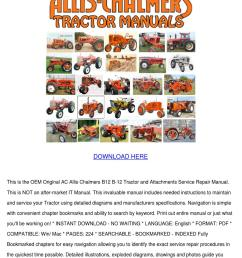 12v relay wiring diagram allis chalmers b12 b 12 ac tractor attachment by johnette pamphile issuu [ 1060 x 1500 Pixel ]