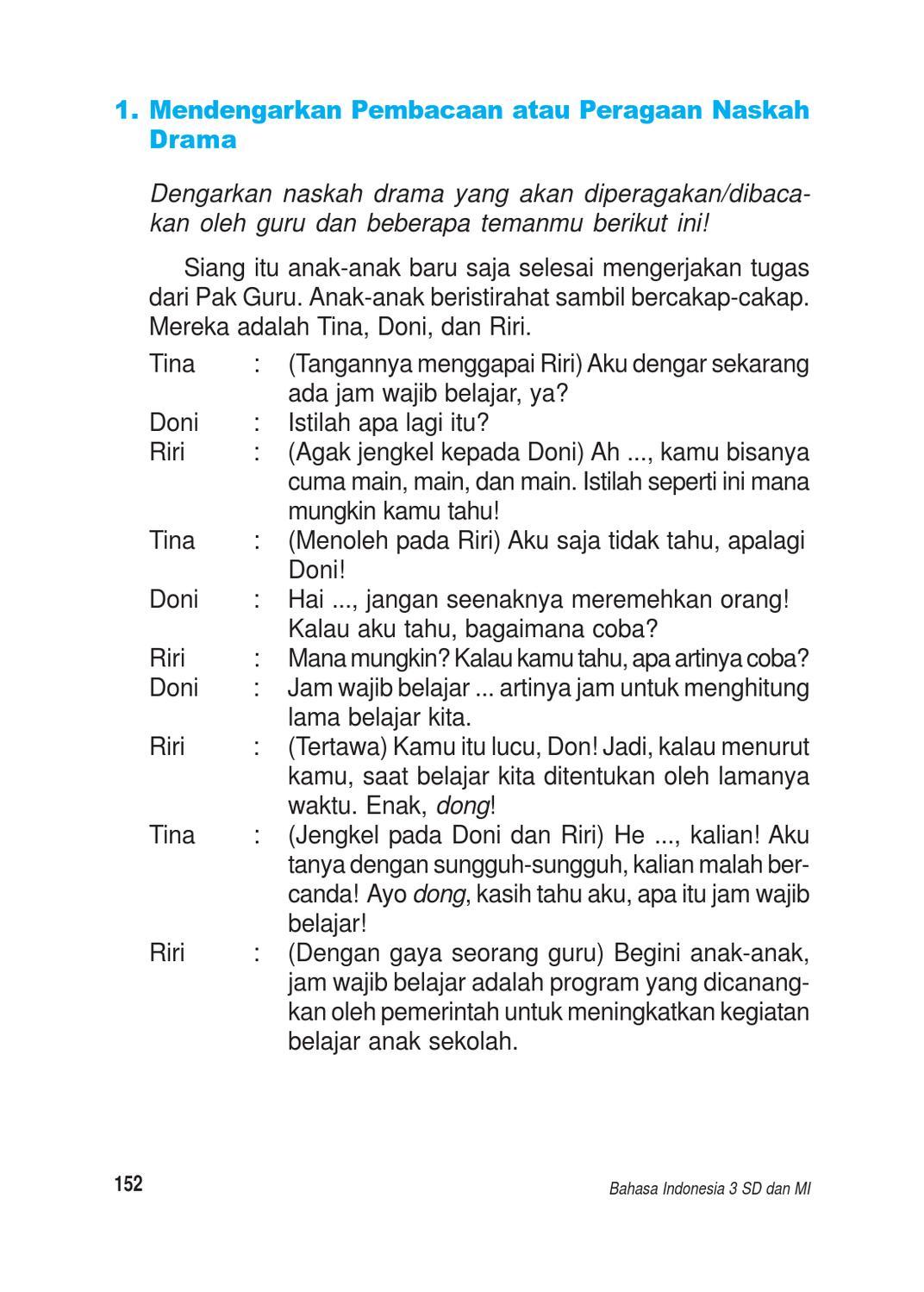 Teks Drama Bahasa Indonesia : drama, bahasa, indonesia, Kelas, Bahasa, Indonesia, Kaswan, Herawati, Issuu