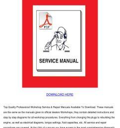 yamaha fjr1300 workshop repair manual downloa [ 1060 x 1500 Pixel ]
