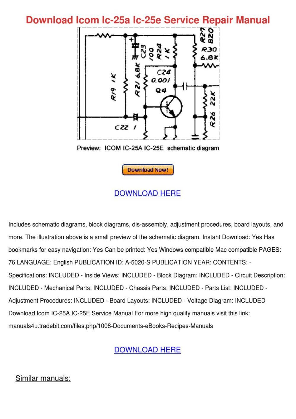 medium resolution of icom ic a200 wiring diagram
