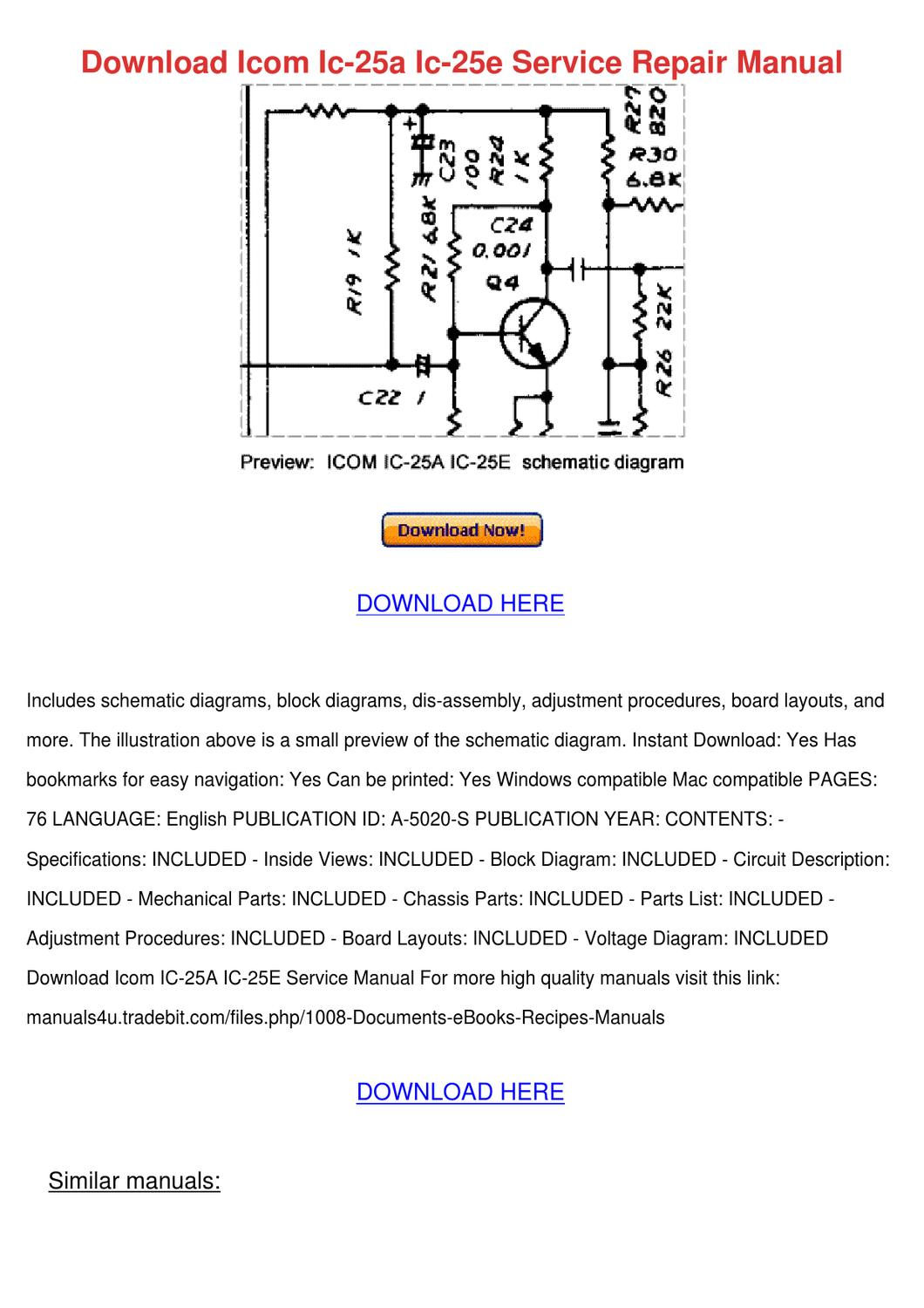 hight resolution of icom ic a200 wiring diagram