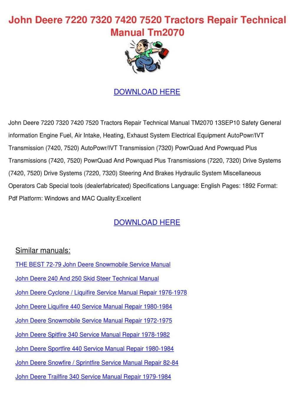 medium resolution of john deere 270 skid steer wiring schematic
