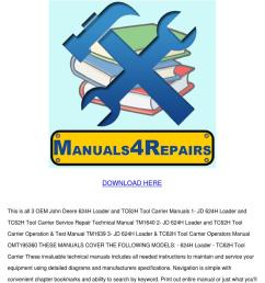 john deere 624h loader tc62h tool carrier 3 m by keturah ellenberg issuu [ 1060 x 1500 Pixel ]