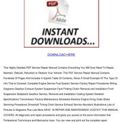 Nissan Primera P12 Wiring Diagram Household Diagrams Service Repair Manual Pdf By Claris