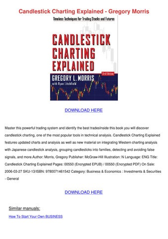 Pdf explained gregory candlestick charting morris