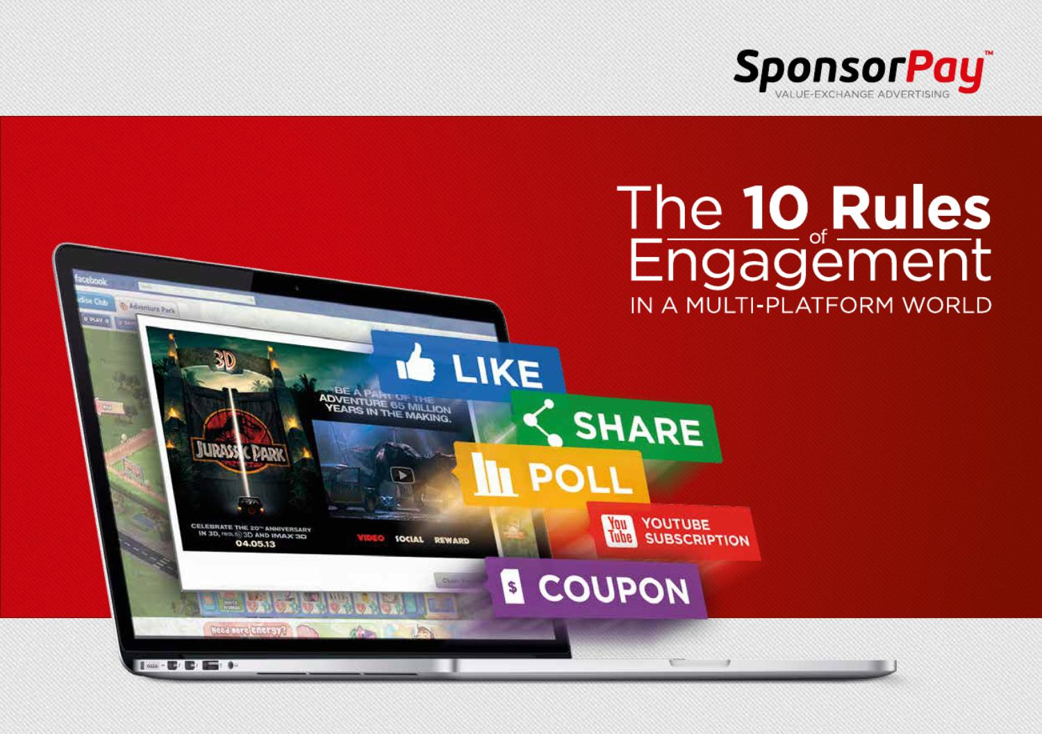 The 10 Rules of Engagement in a Multi-Platform World by SponsorPay GmbH - Issuu