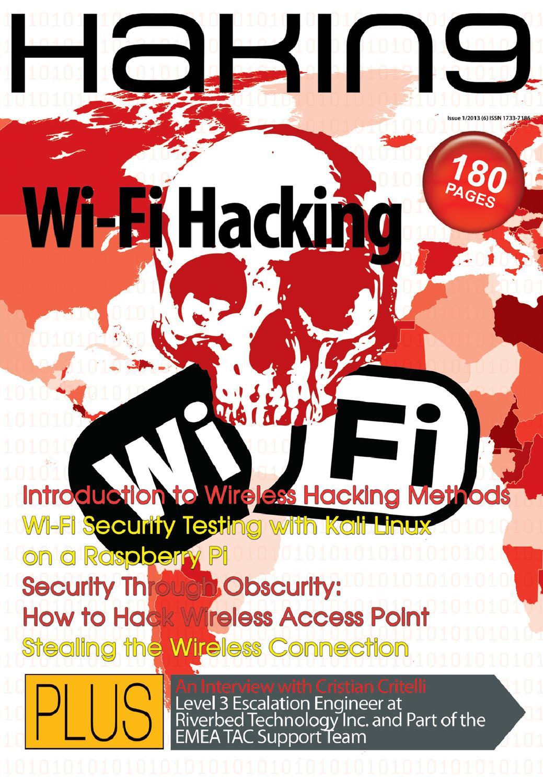 Tutorial Wireshark Hack Wifi : tutorial, wireshark, Wi-fi, Hacking, Wireshark, Hakin9Magazine, Issuu