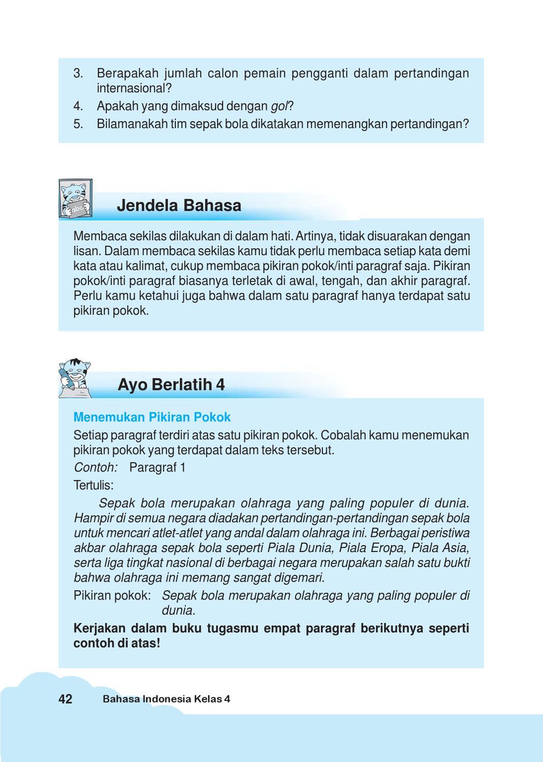 Inti Paragraf : paragraf, Kelas, Bahasa, Indonesia, Iskandar, Herawati, Issuu