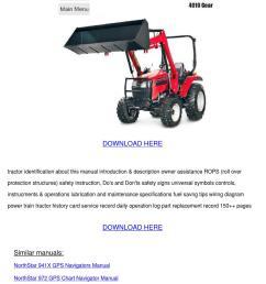 mahindra 4010 gear 4010 hst tractor operator [ 1060 x 1500 Pixel ]