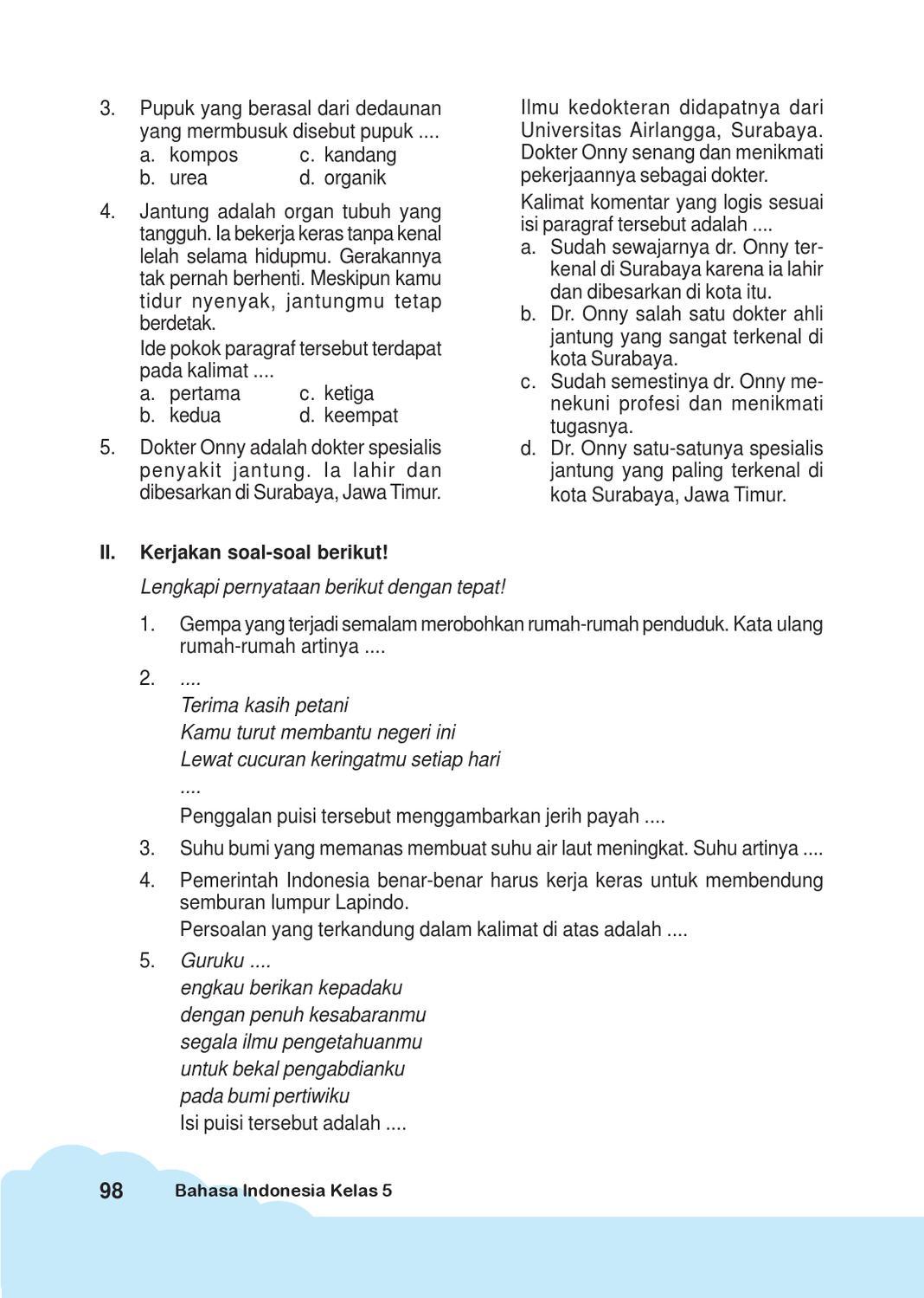 Ide Pokok Paragraf Tersebut : pokok, paragraf, tersebut, Kelas, Bahasa, Indonesia, Iskandar, Herawati, Issuu