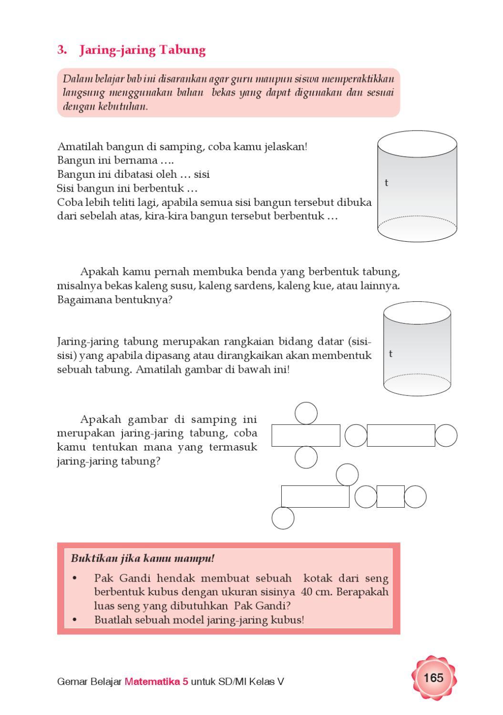 Jaring-jaring Tabung : jaring-jaring, tabung, Kelas, Gemar, Belajar, Matematika, Herawati, Issuu