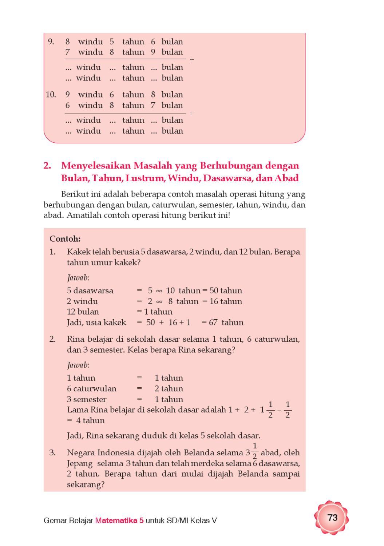 1 Dasawarsa Berapa Abad : dasawarsa, berapa, Kelas, Gemar, Belajar, Matematika, Herawati, Issuu