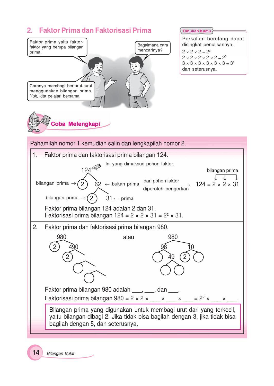 Cara Faktorisasi : faktorisasi, Kelas, Gemar, Matematika, Sumanto, Herawati, Issuu