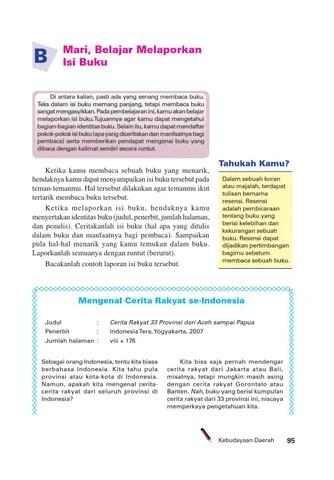 Contoh Isi Buku : contoh, Kelas, Bahasa, Indonesia, Membuatku, Cerdas, Herawati, Issuu