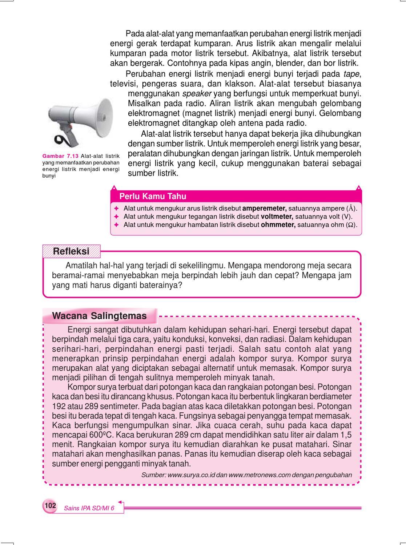 Alat Pengukur Tegangan Listrik Disebut : pengukur, tegangan, listrik, disebut, Kelas, Sains, Pengetahuan, Sularmi, Herawati, Issuu