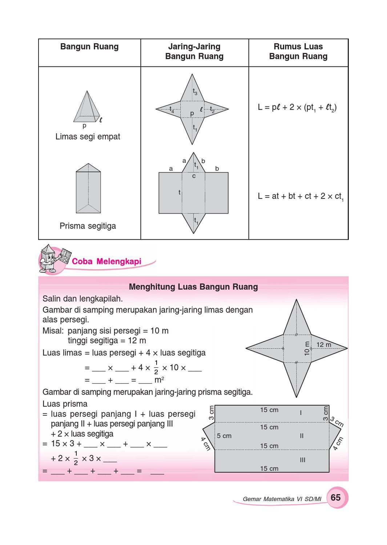 Jaring Jaring Persegi Panjang : jaring, persegi, panjang, Kelas, Gemar, Matematika, Sumanto, Herawati, Issuu