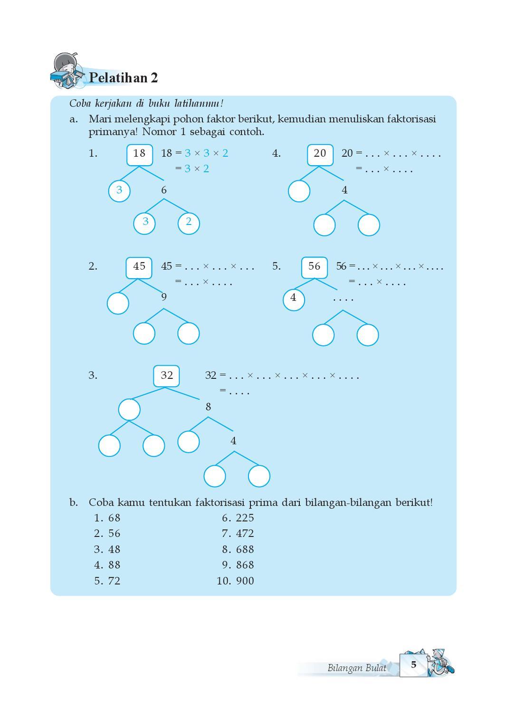 Contoh Pohon Faktor : contoh, pohon, faktor, Kelas, Matematika, Priyo, Herawati, Issuu