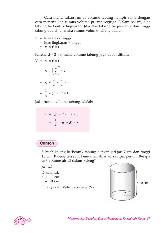 Rumus Volume Air : rumus, volume, Kelas, Matematika, Hardi, Herawati, Issuu