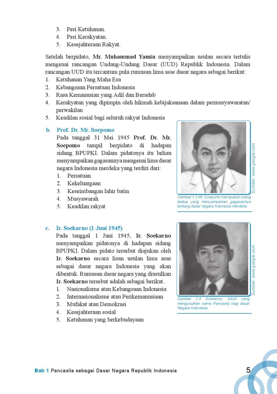 Usulan Dasar Negara Soekarno : usulan, dasar, negara, soekarno, Kelas, Pendidikan, Kewarganegaraan, Kokom, Herawati, Issuu