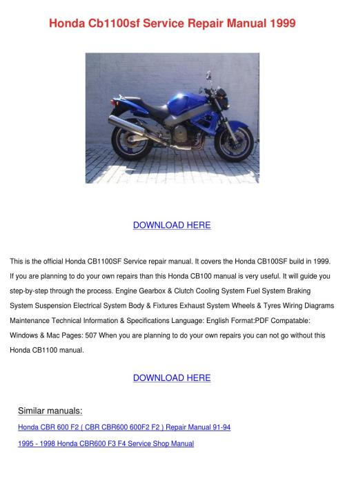 small resolution of honda cbr f4 1999 wiring diagram