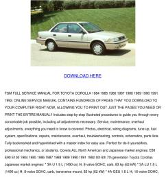 toyota corolla full online service manual dow by willette galbavy issuu [ 1060 x 1500 Pixel ]