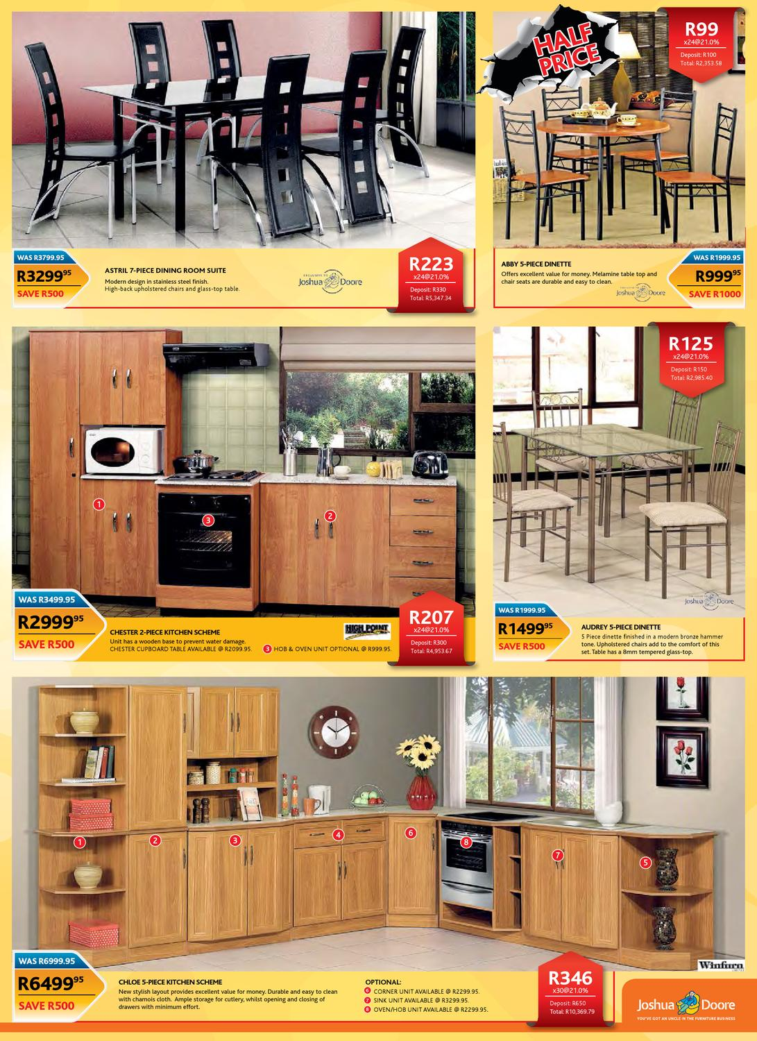 3 piece kitchen table contractor nj joshua doore catalogue by jd group - issuu