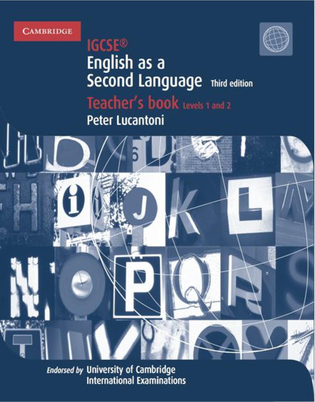 hight resolution of Cambridge IGCSE English as a Second Language: Teacher's Book (third  edition) by Cambridge University Press Education - issuu