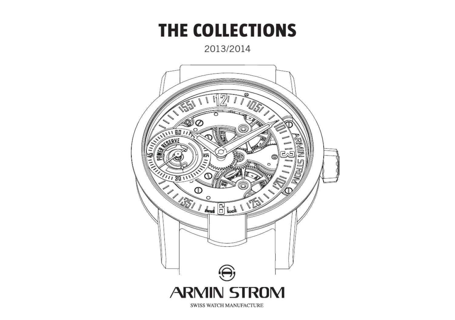 Armin Strom The Collections 2013/2014 by Armin Strom AG