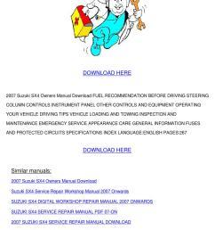 2008 suzuki sx4 owner manual [ 1060 x 1500 Pixel ]