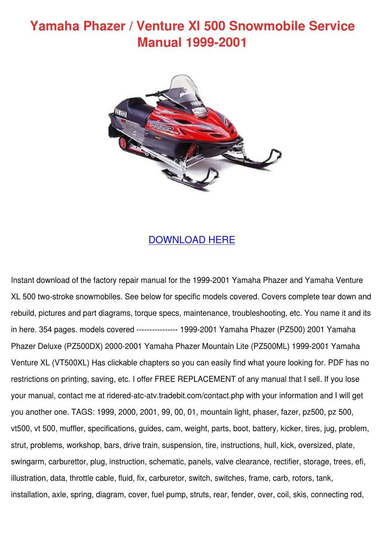 hight resolution of 2001 yamaha phazer 500 wiring diagram