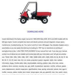 mule 2500 2510 2520 service manual repair 199 by kathryn gressman issuu [ 1060 x 1500 Pixel ]
