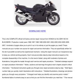 honda cbr 1100 manual blackbird cbr1100xx 199 by raymond mcguinness issuu [ 1060 x 1500 Pixel ]