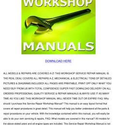 perkins diesel marine engine workshop manual [ 1060 x 1500 Pixel ]
