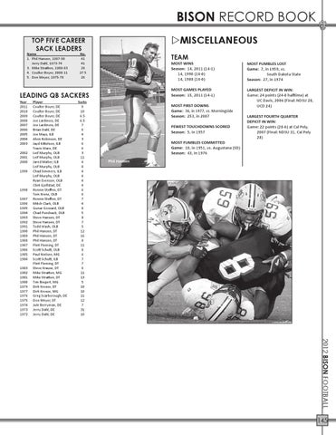 2012 North Dakota State Football Media Guide by North