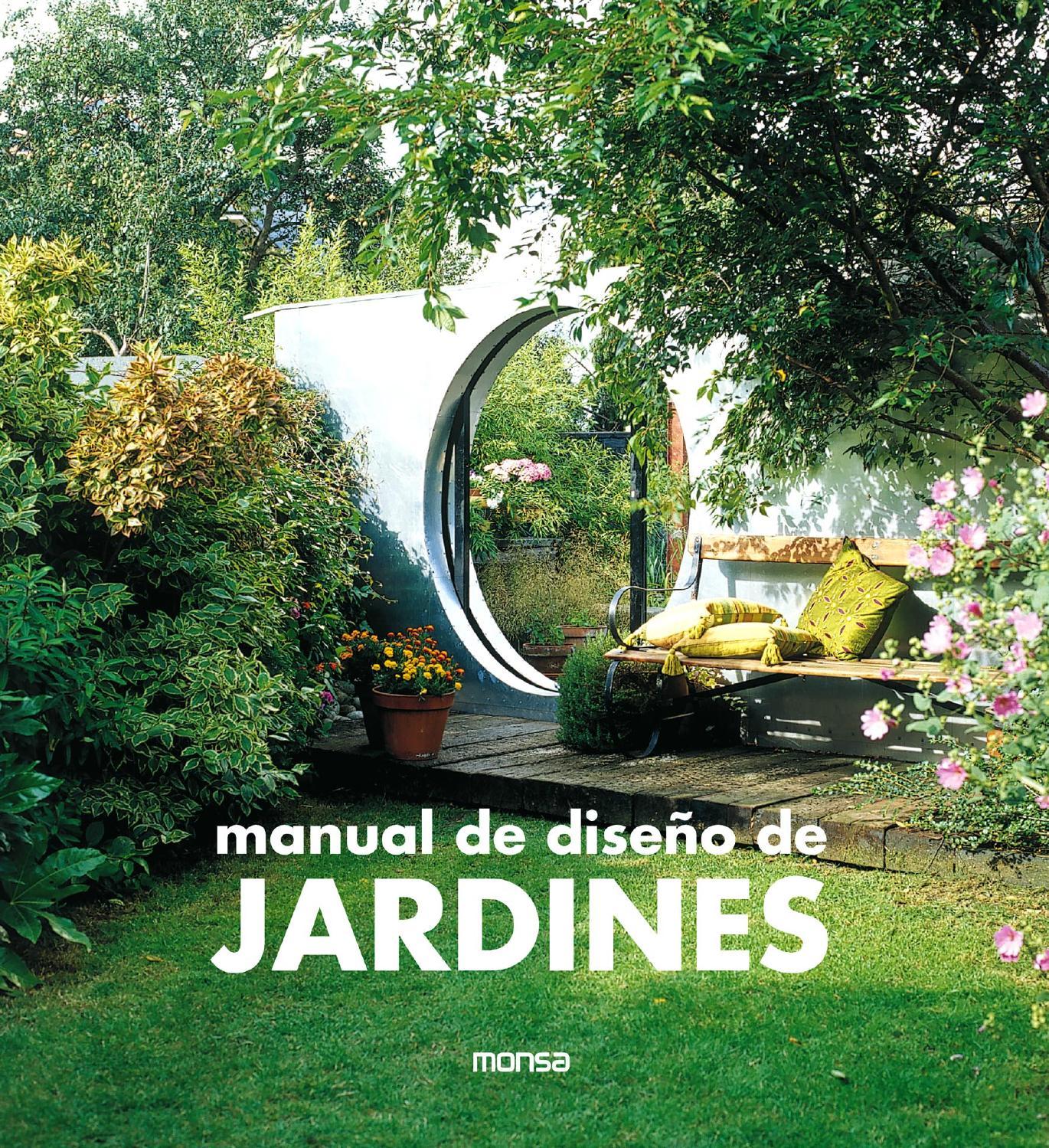 MANUAL DE DISEO DE JARDINES by Monsa Publications  Issuu