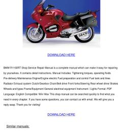 bmw r1150rt shop service repair manual downlo [ 1060 x 1500 Pixel ]