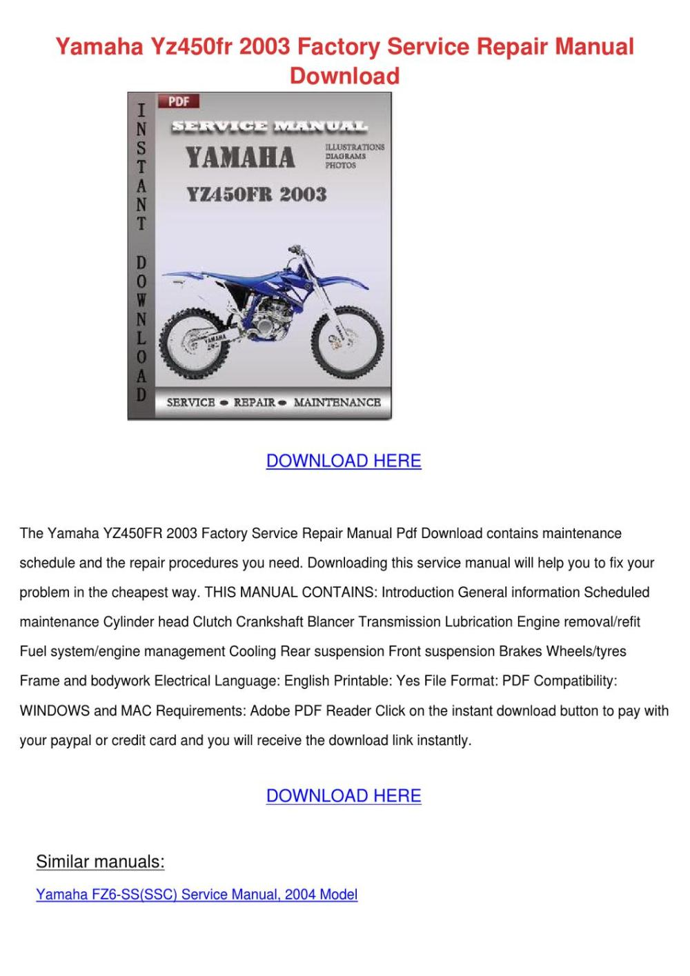 medium resolution of yamaha ef3000ise generator servicerepair manual downloadinstant download this is the most complete service repair manual for the yamaha ef3000ise rvice