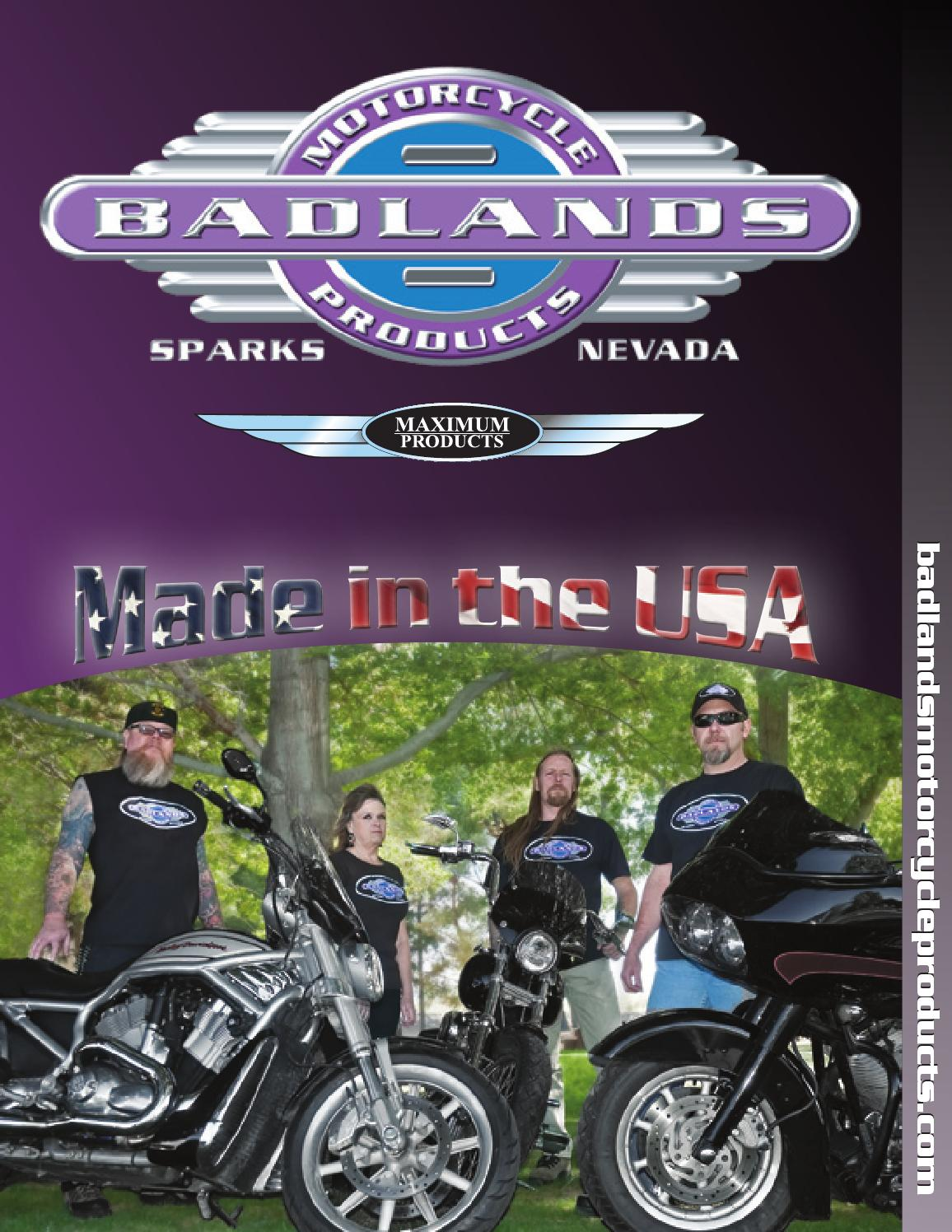 hight resolution of 2009 badlands motorcycle products catalog by pitbulls motorcycles issuu